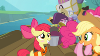 Apple Bloom blushing S4E09