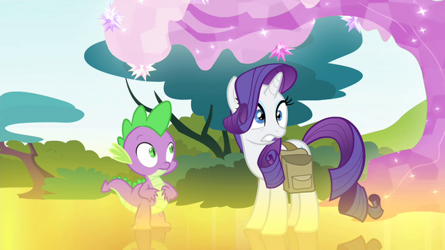 File:Rarity looking out toward Ponyville S4E23.png