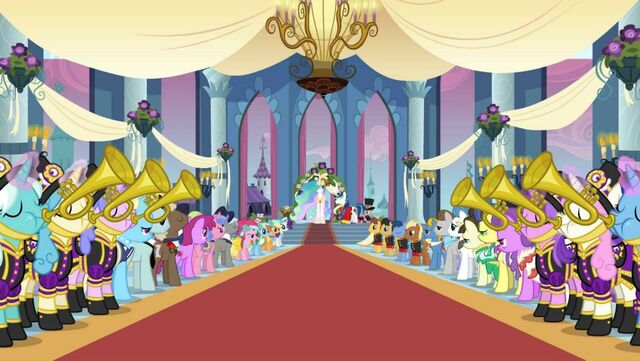 File:Wedding trumpeters promotional image S2E26.jpg