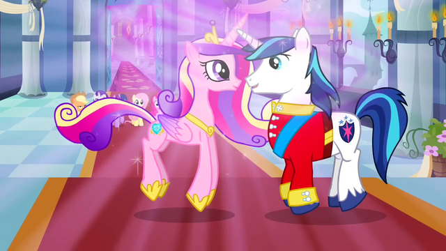 File:Cadance and Shining Armor S02E26.png