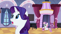 Rarity making excuses S2E5