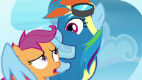 "Scootaloo ""is something wrong?"" S7E7"