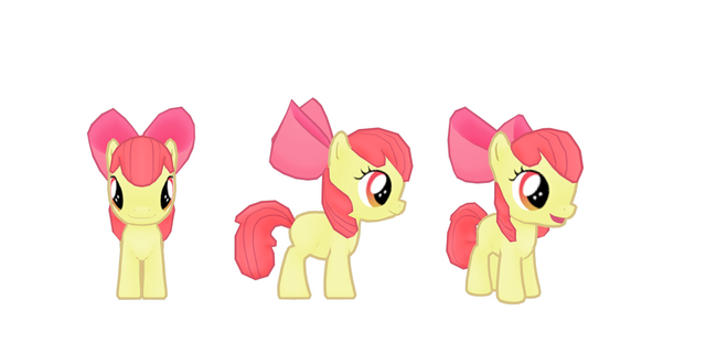 File:My little pony mobile game Apple Bloom Model.png