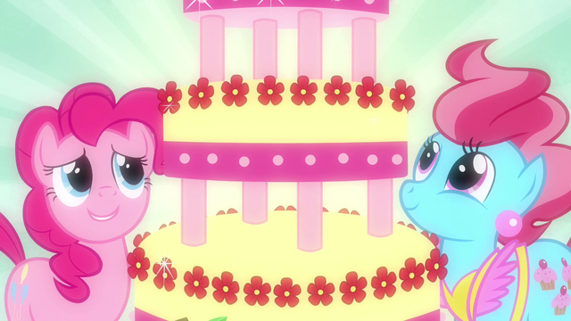 File:Pinkie Pie and Mrs. Cake looking at cake S2E24.png