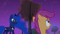 Scootaloo and Luna S3E6