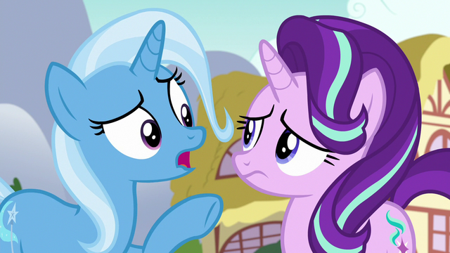 """File:Trixie """"you and those random ponies"""" S7E2.png"""