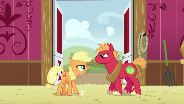 File:Applejack stamps a hoof on the ground S6E23.png