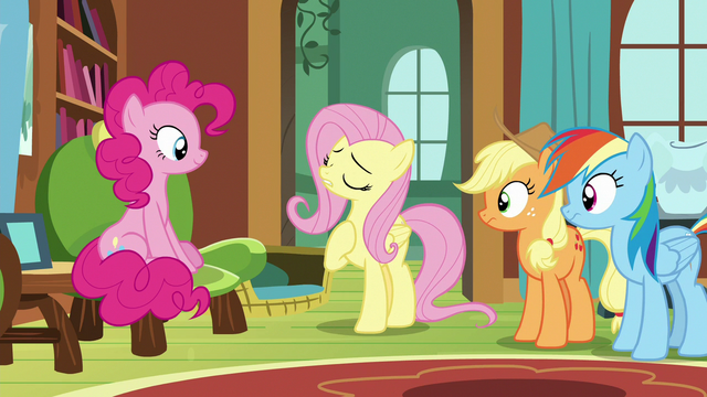 """File:Fluttershy """"in dire need of a safe place"""" S7E5.png"""