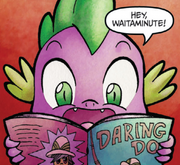 Micro-Series issue 9 Spike's comic