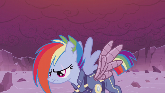 File:Rainbow Dash about to return to battle S5E25.png