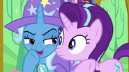 """Trixie whispering """"it's a working title"""" S6E6"""
