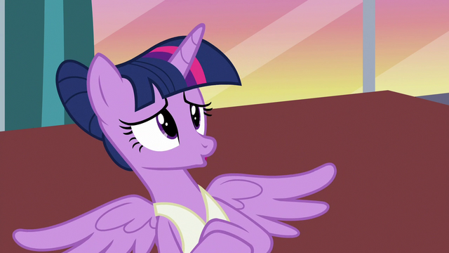 "File:Twilight Sparkle gives a prolonged ""no"" S7E10.png"