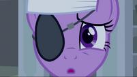 Twilight wearing an eye patch and headband S2E20