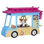 Equestria Girls Minis Sunset Shimmer Rollin' Sushi Truck set front