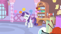 Extremely nervous Rarity S1E17