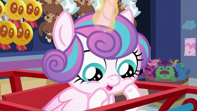 File:Flurry Heart looking at the cart's wheels S7E3.png
