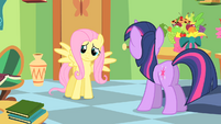 "Fluttershy ""somehow I become more popular"" S1E20"