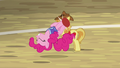 Pinkie launches ball with her somersault kick S6E18.png