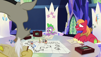 Spike rolls the d20 once again S6E17