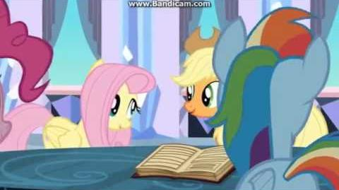 The Ballad of the Crystal Empire/International versions