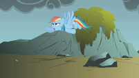 "Rainbow Dash ""time to stop wasting time"" S1E07"