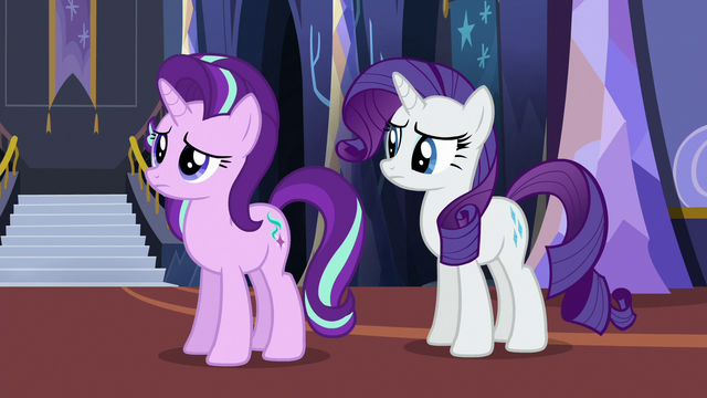 File:Starlight and Rarity staring at Pinkie Pie S6E21.png
