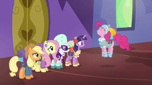 """File:Pinkie Pie """"super duper fun!"""" S6E17.png"""