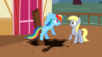 Derpy Hooves Shocked S2E14