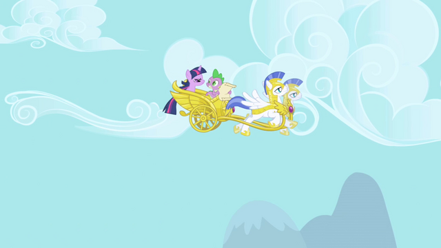 File:Spike talking to Twilight on chariot S1E01.png