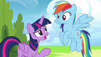 """Twilight Sparkle """"if they don't know what to work on"""" S6E24"""
