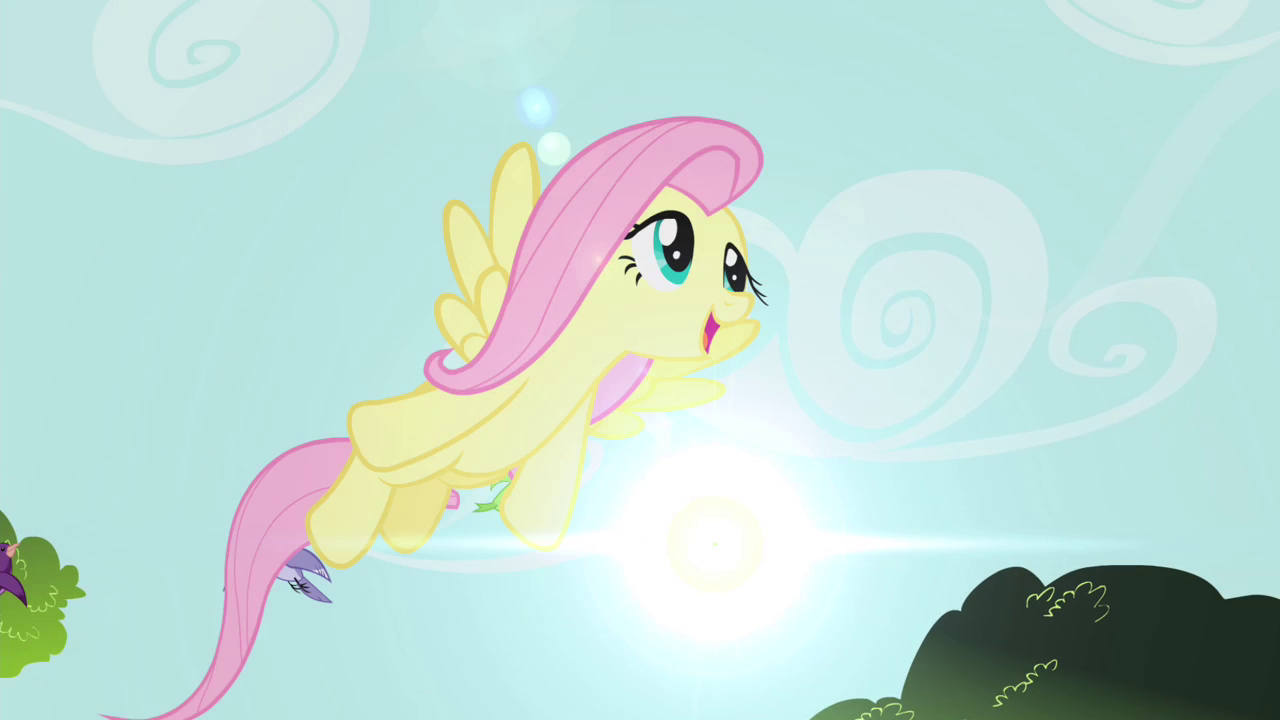 Image - Fluttershy flying S4E14.png | My Little Pony ...