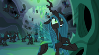 "Queen Chrysalis ""according to my plan"" S6E26"