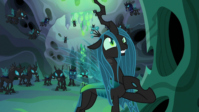 """File:Queen Chrysalis """"according to my plan"""" S6E26.png"""
