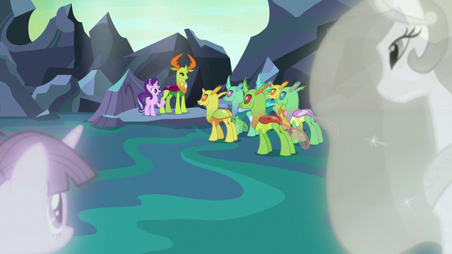 File:Twilight and Celestia watch Starlight's friendship class S7E1.png