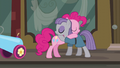 Pinkie and Maud Pie's sisterly hug S6E3.png
