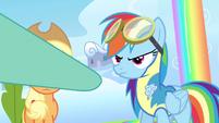 Rainbow Dash a hoof bump S3E7