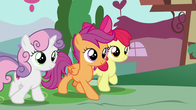 File:The Cutie Mark Crusaders walking S6E4.png