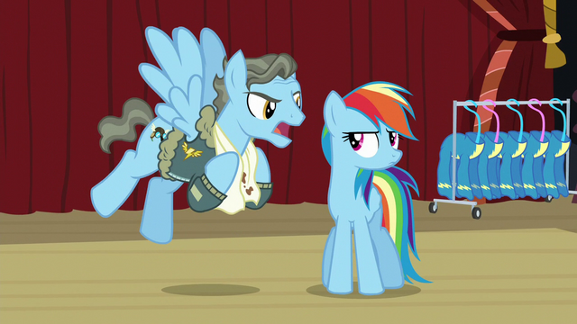 """File:Wind Rider """"to protect my record!"""" S5E15.png"""