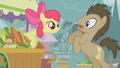 Apple Bloom surprises Dr. Hooves S1E12.png