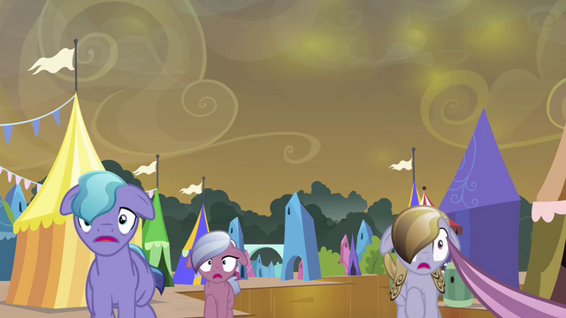 File:Crystal Ponies running from approaching Sombra S3E02.png