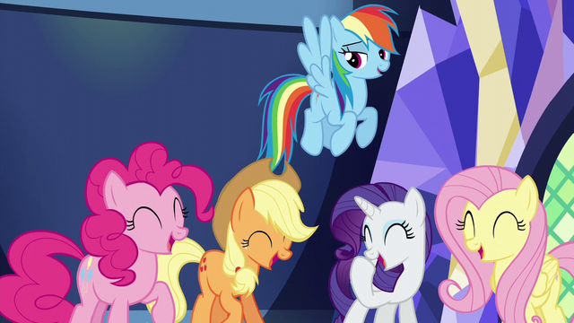 "File:Rainbow ""it's funny if you were there"" S5E22.png"