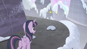 Twilight sees her and her friends' cutie marks flying S5E02.png