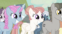 Equalized ponies smiling S5E02