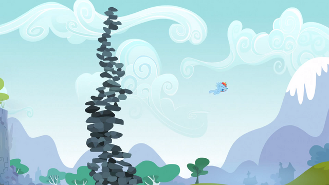 File:Rainbow Dash Topples the Tower 5 S3E09.png