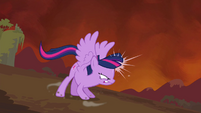 Twilight about to fly fast S4E26