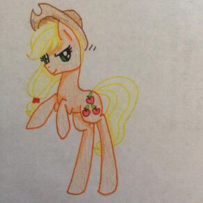 FANMADE Applejack Request