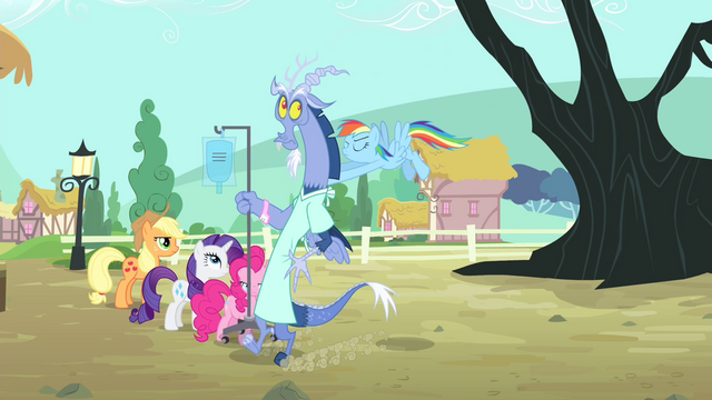 File:Rainbow pushes Discord S4E11.png