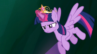 Twilight prepares to remove the Elements S4E02
