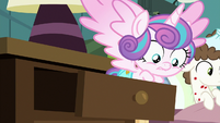 Flurry Heart pops out of a lamp drawer S7E3