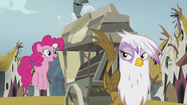 File:Gilda sees Pinkie hopping beside the carriage S5E8.png